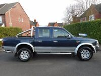FINANCE AVAILABLE!! NO VAT!! Ford ranger 2003 with 122k,Full Mot.Full chrome kit.....