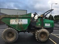 9 ton Benford forward tipping dumper.