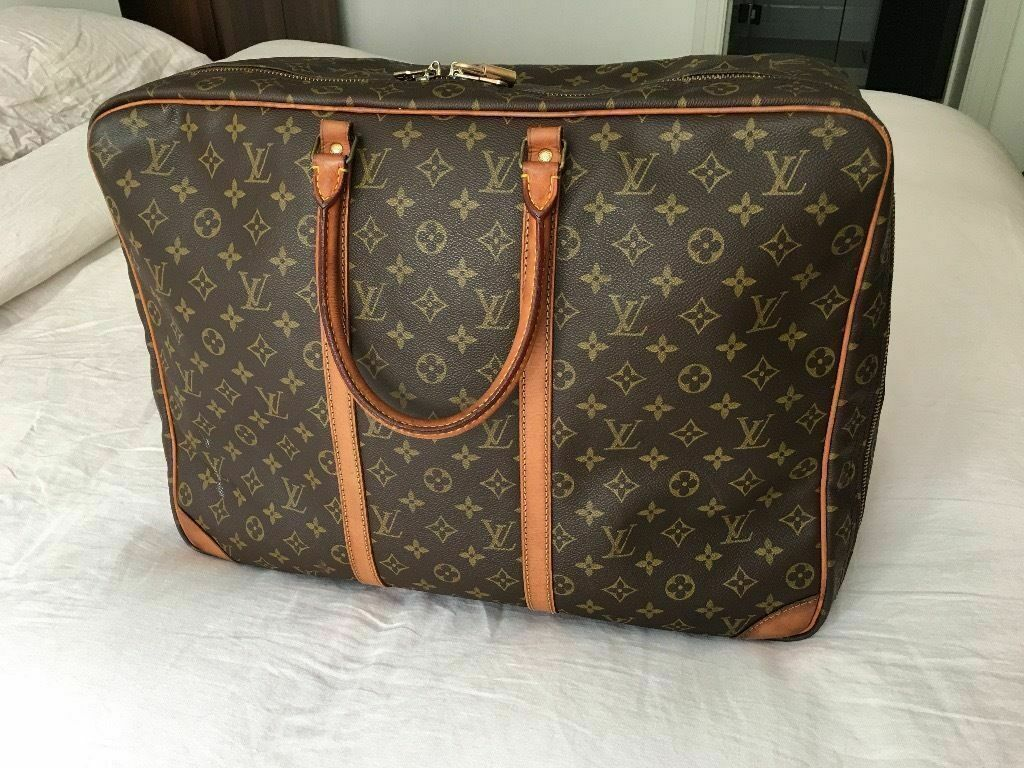 Genuine LV Louis Vuitton Sirius 50 Suitcase Travel Hand Bag, Monogram  Canvas Leather, rrp £1300!! 79103c6456