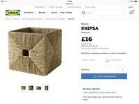 IKEA knipsa storage baskets x 4