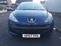 Peugeot 207 1.4 HDI FULL YEARS MOT (NOT astra civic polo focus fiesta BMW)