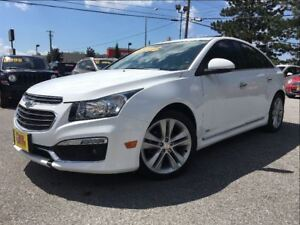 2015 Chevrolet Cruze LTZ R/S NAVIGATION SUNROOF LEATHER ALLOYS