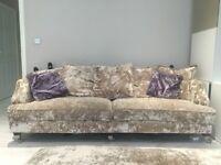 Beautiful victorian modern Sofology sofa set (used)