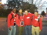 British Red Cross street fundraiser - immediate start - £8.50-£12/hr