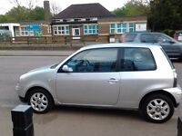 SEAT AROSA S 54 PLATE, 1.0 L, NEW TIMING BELT, SILVER, CHEAP INSURENCE