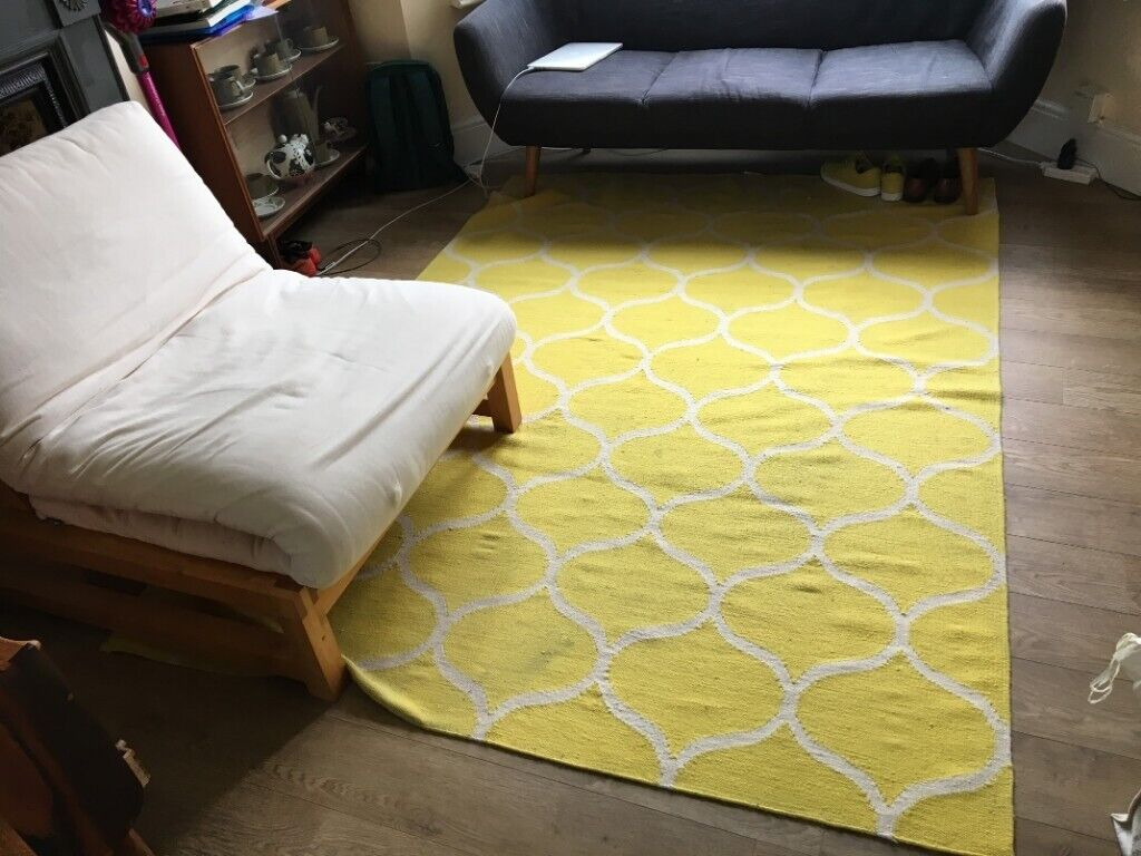 Ikea Yellow Stockholm Rug Flatwoven Wool In Lambeth London Gumtree