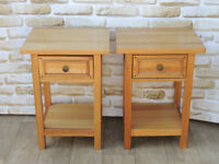 2 Bedside Cabinets Willis and Gambier (Delivery)