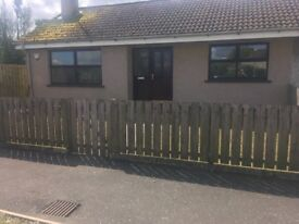 2 Bed Refurbished Semi-detached bungalow to rent. Slievebouy Park. Claudy