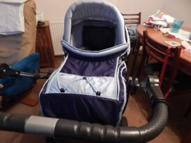 pram and car seat excellent condition
