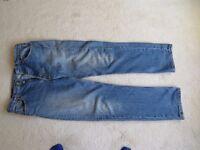 501 Levi jeans – used 34 waist, 32 leg