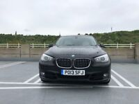 2013 BMW 5 SERIES GRAN TURISMO 5GT F07 520D BLACK 12 months extended warranty