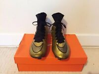 Nike Mercurial Superfly Golden Football Boots, Size:UK6/Eur39