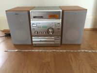 Sony CMT-CP 300 Home Audio System. HIFI. Triple CD changer, Twin cassette, RDS Radio