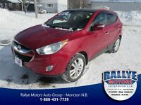 2010 Hyundai Tucson Limited w/Navigation! Sunroof! Leather!