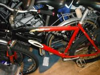 red carrea bike brand new cables crosser wheels 95 pounds