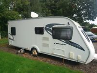 Cruach Sterling Cairngorm 4 berth fixed bed 2010