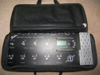 Fender Mustang Floor Guitar Multi Effects Processor with Gig Bag.