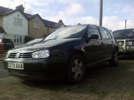 Golf 1.6 automatic black in good condition start & drives very well 4 month