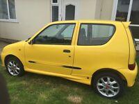 Fiat Seicento Sporting Yellow