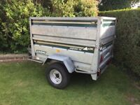 DAXARA 156 Galvanised Metal Tipping Trailer