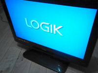 "23"" LCD TV, Logik L26DVDB20, DVD, USB and SD Player, HDMI, FULL HD, Freeview"