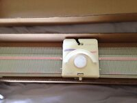 Silver Reed LK150 knitting machine