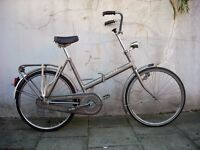 Folding/ Commuter Bike by Union, Grey, 24 Inch Wheels, Great Condition! JUST SERVICED/ CHEAP PRICE!!