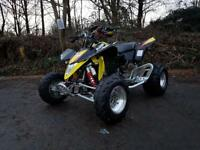 2014 Suzuki quadsport Z400 fuel injection quad
