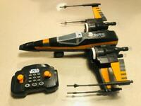 Star Wars Poe's X-Wing Fighter U Command with Remote Control
