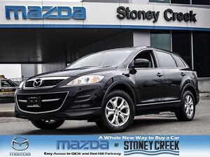 2012 Mazda CX-9 GS AWD, Btooth, Cruise, Television, Heated, 7 se