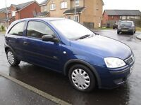 VAUXHALL CORSA 1.0L 2005 (ONLY 72000 MILES) MOT MAY 2017 IMMACULATE ASTRA FIESTA CLIO PUNTO 107 POLO
