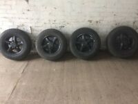 Landrover \rangerover alloy wheels and tyres (alloys,wheels)