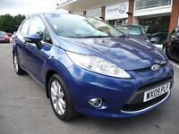 FORD FIESTA 1.4 ZETEC 16V 5d 96 BHP REDUCED BY £500 (blue) 2009