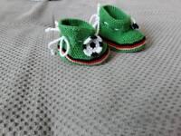 Supersüße Häkelschühchen für Neugeborene Niedersachsen - Seelze Vorschau