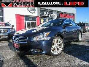 2013 Nissan Maxima SV,INTELLIGENT KEY, LEATHER INTERIOR, SUNROOF