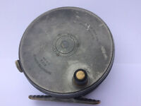 c1929-39 Hardy Perfect Duplicated Mk II, 3 3/8 Trout Fly Fishing Reel Will Sinton