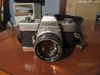 Minolta (SLR) SRT-101 with 55mm F1.7, Rokkor Lens