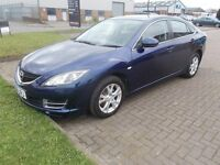 MAZDA 6 TS (08) SERVICE HISTORY, LOW MILES, 2 LOCAL OWNERS.