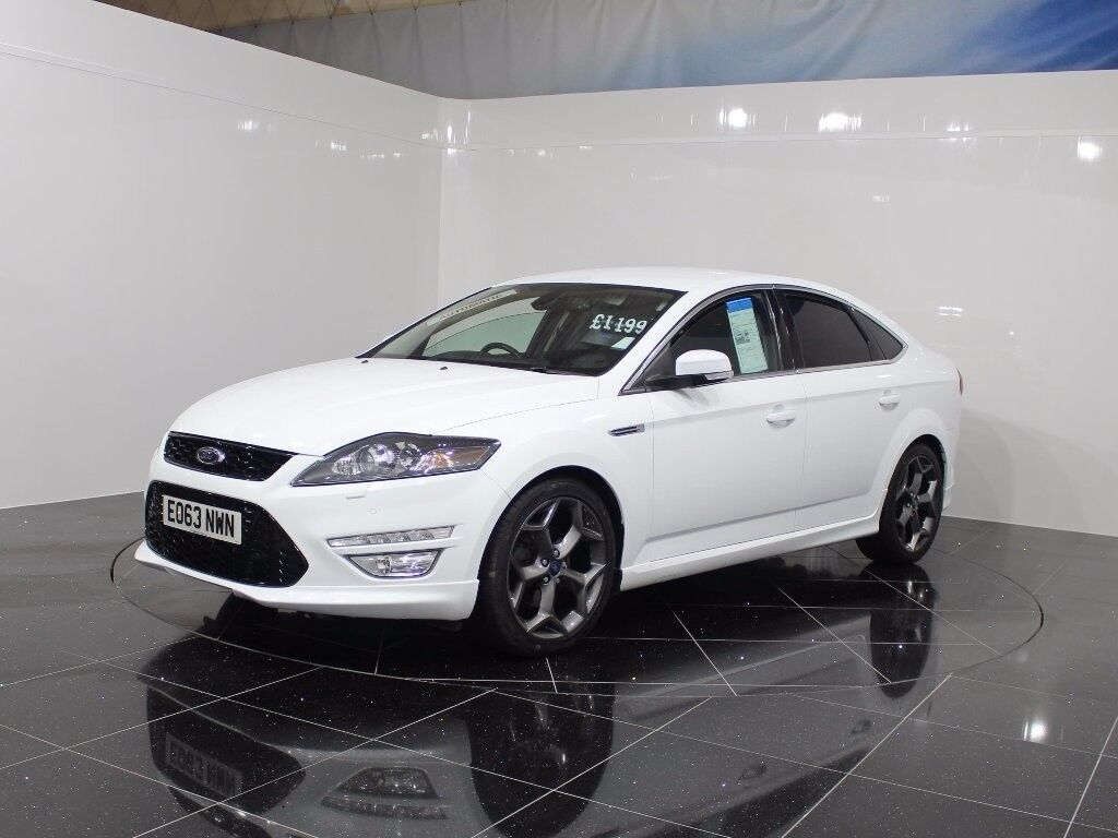 Ford Mondeo Titanium X Sport White 2013 In Blackwood