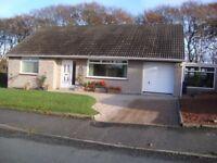 Stranraer - 2 bedroom bungalow, quiet West End location
