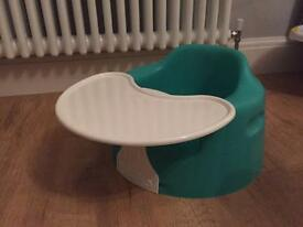 Baby bumbo seat with table