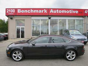 2012 Audi A7 PREMIUM PLUS-LED LIGHTS-BOSE-AUDI SERVICED-1 OWNER