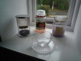 Yankee Candle Empty Jars Job Lot