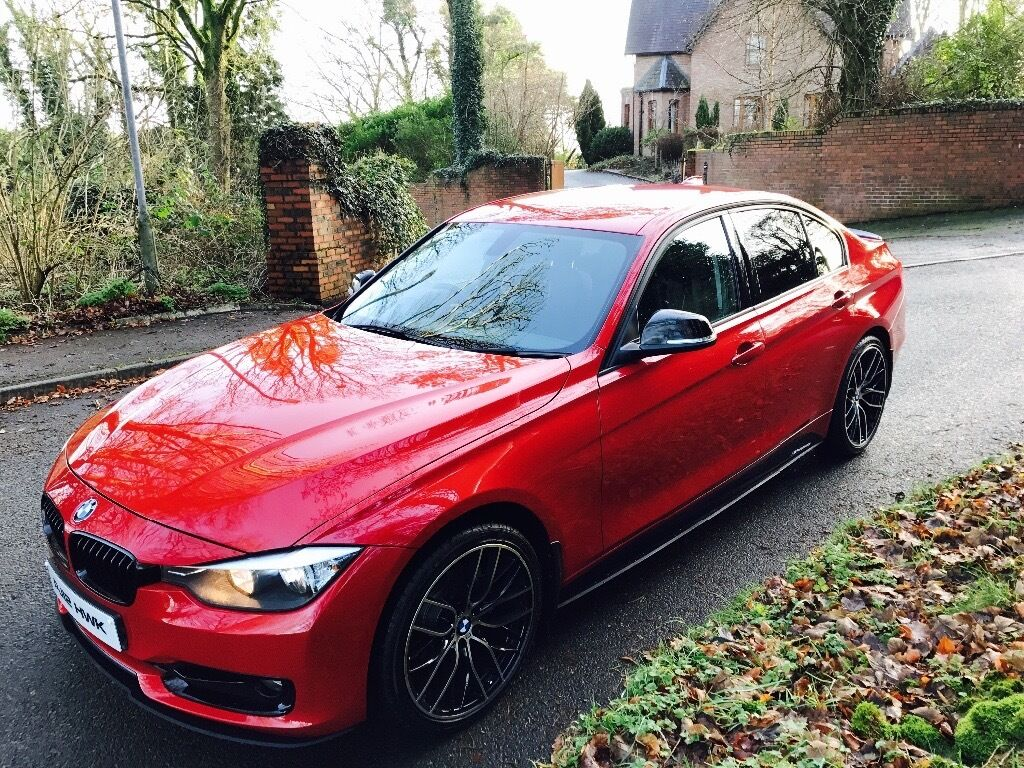 bmw f30 320d sport m performance exterior upgrade 2012 in omagh county tyrone gumtree. Black Bedroom Furniture Sets. Home Design Ideas
