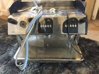 commercial coffee machine EXPOBAR with bean grinder