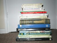 Collection of 21 Books Britain History Guide Story Ancient Historic Hutchinsons Lot