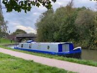 Narrow boat 50ft