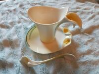 Franz Lilly Cup, Saucer and spoon FZ00736