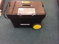 Stanley mobile tool box chest on wheels