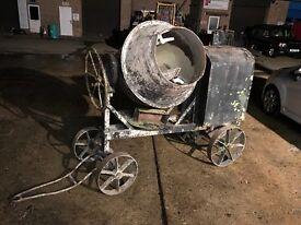 Lister diesel concrete mixer spares or repair